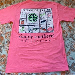 """Simply Southern """"Elements of Prep Life"""" Tee"""